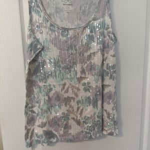 Old Navy Large tank top with sequins